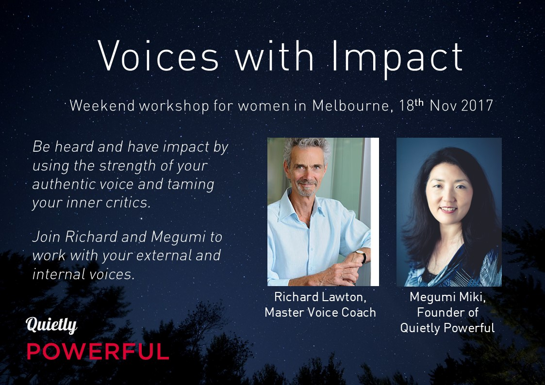 Quietly Powerful Voices with Impact Nov2017 Picture